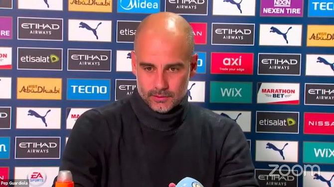 Pep Guardiola Pre-Match Press Conference – Brighton & Hove Albion