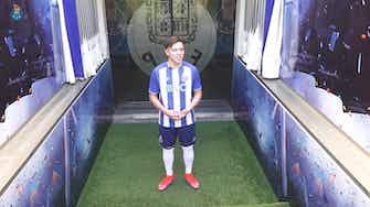 Imagem de visualização para Pepê conhece Estádio do Dragão e diz realizar sonho ao chegar ao Porto
