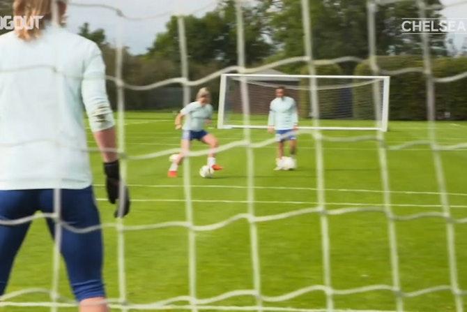 El Chelsea Femenino se prepara para la final de la Champions