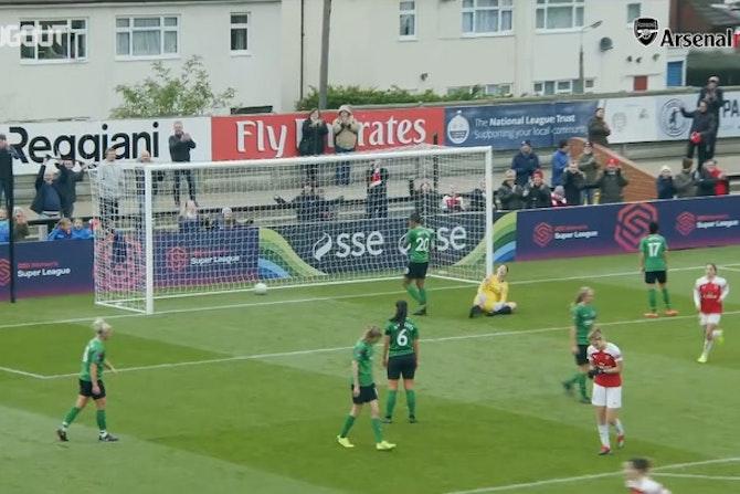 Beth Mead's perfect chip vs Brighton