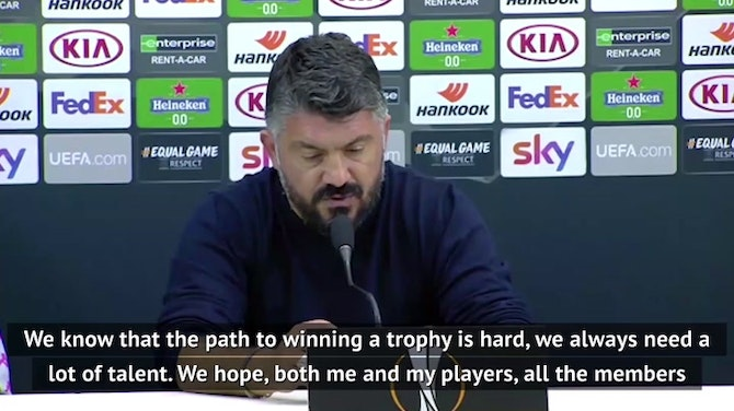 Preview image for Gattuso hoping to honour Maradona with trophy for Napoli