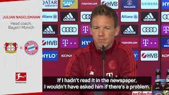 Preview image for Nagelsmann confirms Hernandez Bayern involvement despite legal troubles