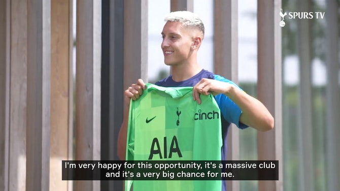 Preview image for Pierluigi Gollini's first Spurs interview
