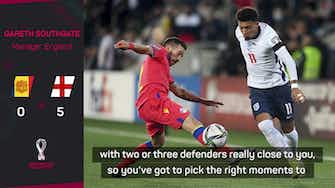 Preview image for Southgate confident Sancho will come good for Man United
