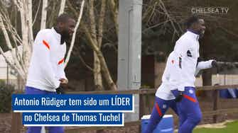 Imagem de visualização para Rüdiger 'renasce' no Chelsea sob o comando de Thomas Tuchel