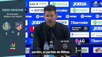 """Imagen de vista previa para Simeone: """"Cualquiera hubiera sacado a Suárez, pero marcó gol"""""""