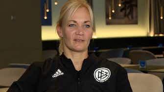 Vorschaubild für Medien: Steinhaus-Webb Kandidatin für DFB-Doppelspitze