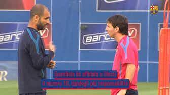 Anteprima immagine per L'impatto di Pep sulla carriera calcistica di Messi