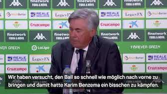 """Vorschaubild für Ancelotti: """"Benzema hat den Unterschied gemacht"""""""