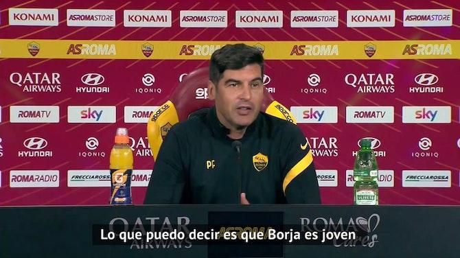 """Imagen de vista previa para Fonseca sobre Borja Mayoral: """"Está haciendo una gran temporada"""""""