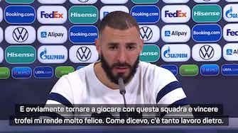 """Anteprima immagine per Benzema: """"Vittoria importante, questa squadra è molto forte"""""""
