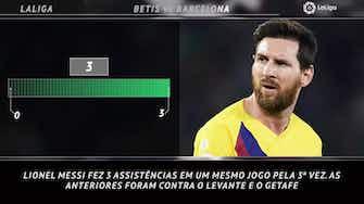 Imagem de visualização para 5 coisas de La Liga - A primeira vez de Messi com três assistências