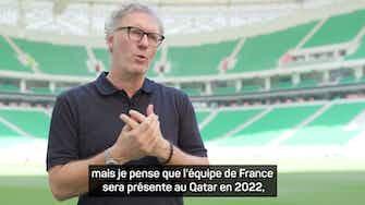 """Image d'aperçu pour Bleus - Blanc : """"Mbappé fait partie des joueurs capables de remplacer CR7 et Messi"""""""