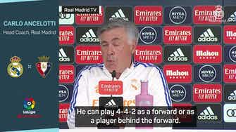 Preview image for Ancelotti prefers other players to out of favour Hazard