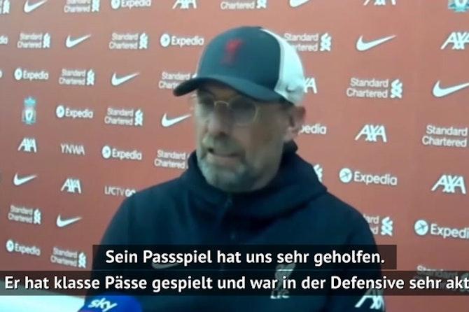 Klopp lobt Ex-Münchener Thiago