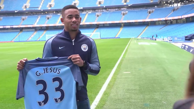 Preview image for Gabriel Jesus' journey from Palmeiras to Manchester City