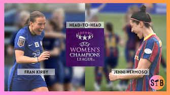 Preview image for Champion's League Final: Head-to-Head Fran Kirby vs Jenni Hermoso