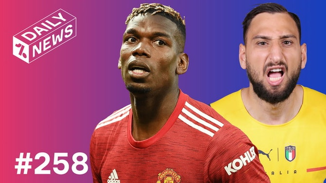 Pogba's NEW 400k-a-week contract + Italy's INSANE record!