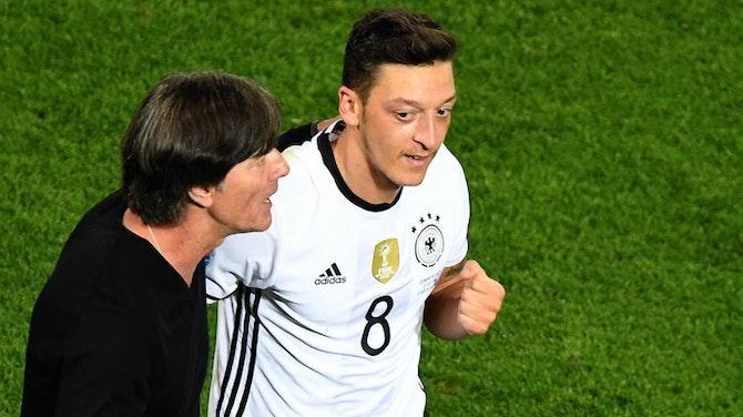 Vorschaubild für Özil: Rio-Weltmeister bereit für klärendes Gespräch mit Löw