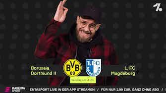 Vorschaubild für BVB II - Magdeburg: Topspiel mit dem Marktwert-Goliath