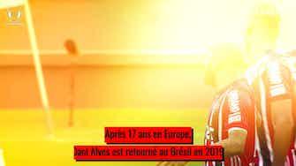 Image d'aperçu pour Le retour réussi de Dani Alves au Brésil