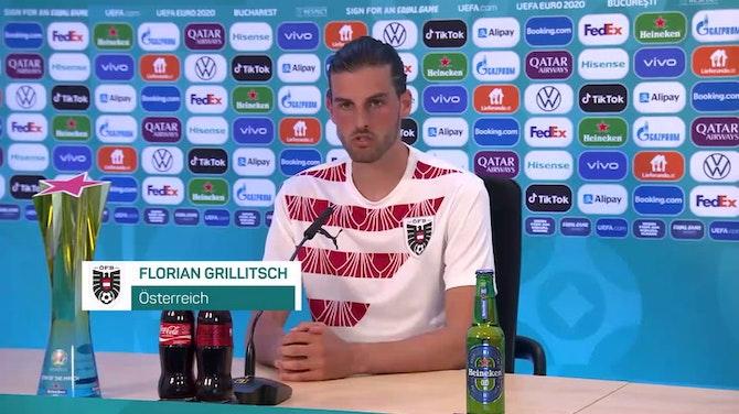 """Grillitsch: """"Verdient ins Achtelfinale eingezogen"""""""