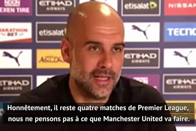 """35e j. - Guardiola : """"Si nous gagnons, c'est fini"""""""