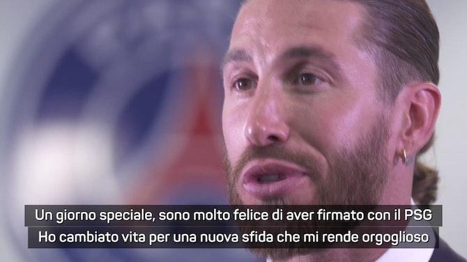 """Anteprima immagine per Sergio Ramos al PSG: """"Cambio vita per continuare a vincere"""""""