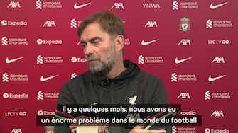 """Image d'aperçu pour Liverpool - Klopp prévient Newcastle : """"L'argent ne peut pas tout acheter"""""""