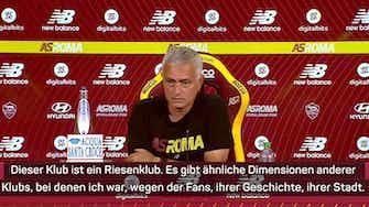 """Vorschaubild für Mourinho: Brauche Zeit bei """"Riesenklub"""" Roma"""