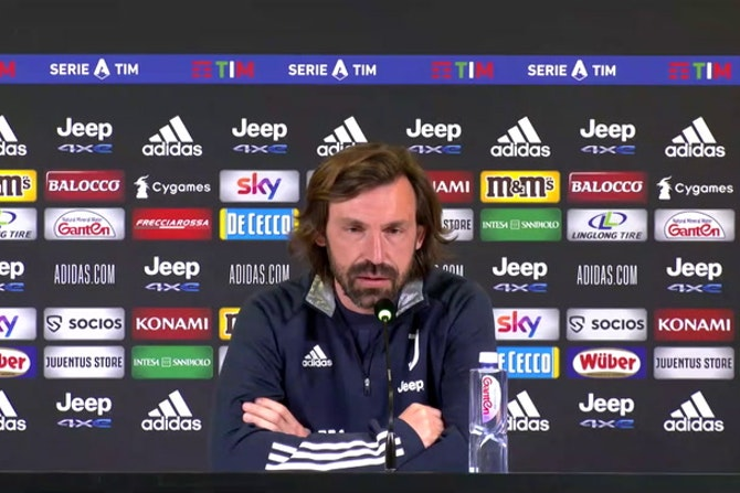 """Pirlo: """"Chiesa out, Ramsey in forse"""""""