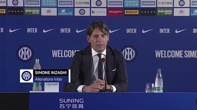 """Anteprima immagine per Inzaghi: """"Difendere lo scudetto, anche senza Hakimi"""""""