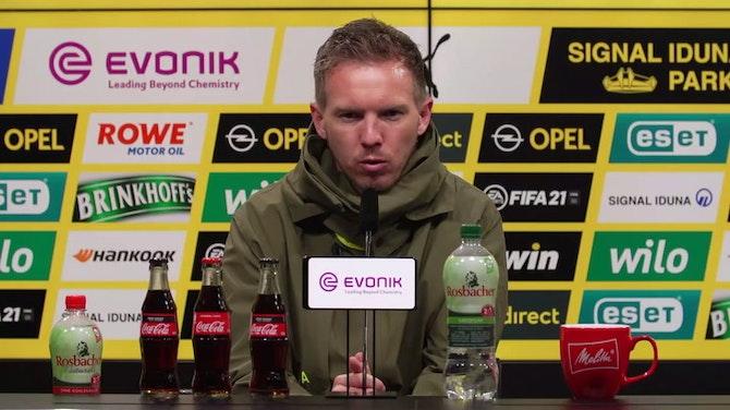 """Vorschaubild für Nagelsmann: """"Drei Gegentore sind zu viel"""""""
