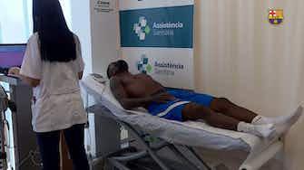 Imagem de visualização para Emerson Royal passa por exames no Barça antes de começar a treinar