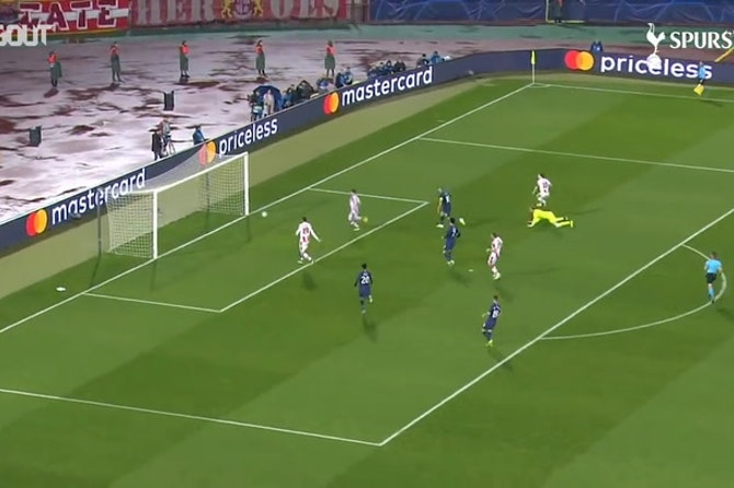 Giovani Lo Celso's first Tottenham goal vs Red Star