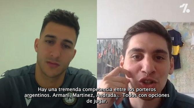 "Musso en EXCLUSIVA con OneFootball: ""¿Argentina? voy para ser titular"""