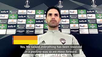 Preview image for Arteta keen to move forward from Aubameyang drama