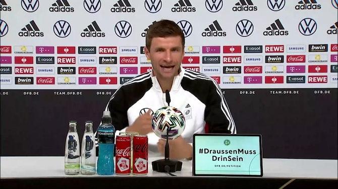 """Müller: """"Darf verbal auch scheppern"""""""