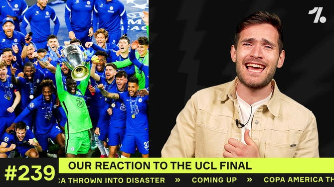 REACTING to the UCL Final!