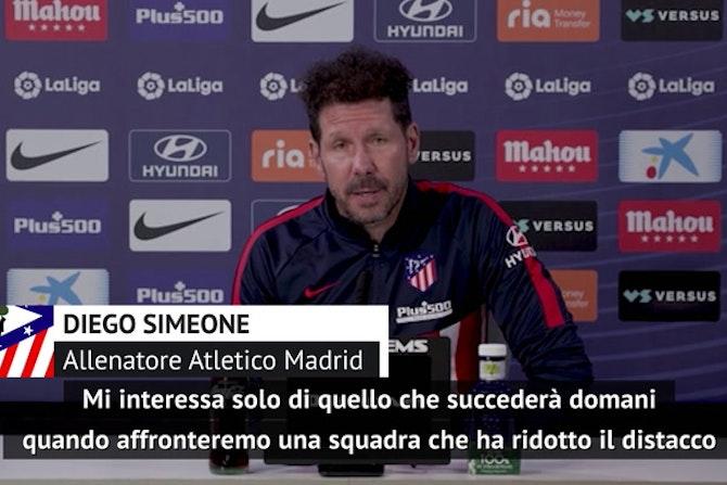 """Simeone, il titolo passa dal tabù Camp Nou: """"C'è sempre una prima volta"""""""