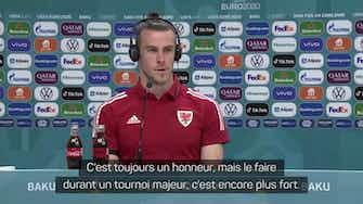 """Image d'aperçu pour Galles - Bale : """"Un immense honneur"""""""