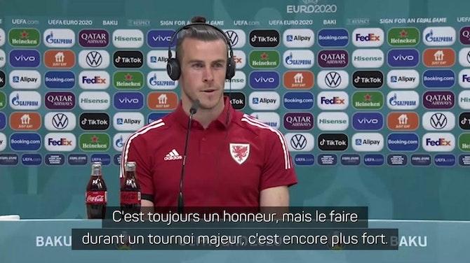 """Galles - Bale : """"Un immense honneur"""""""