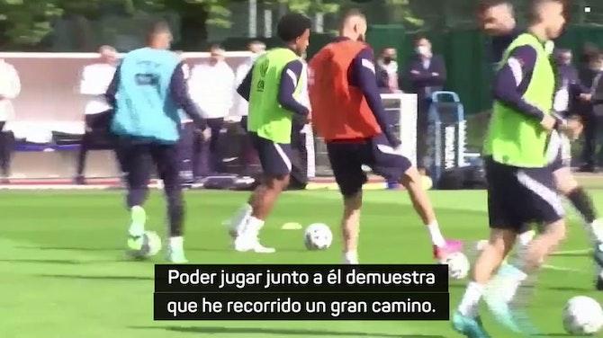"""Coman: """"La generación de Benzema ha sido muy importante"""""""