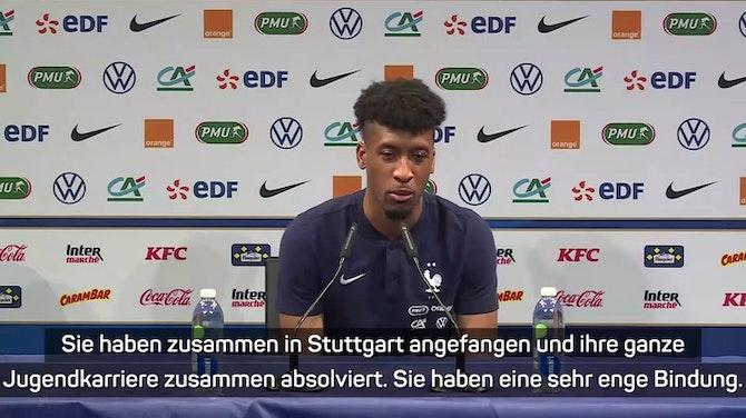 """Coman lobt Flick: """"Unglaublich wichtig für DFB"""""""
