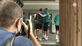 Imagen de vista previa para Eriksen regresa a las instalaciones del Inter