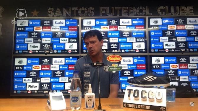 """Imagem de visualização para Fernando Diniz: """"A primeira falha que tivemos possibilitou o gol"""""""