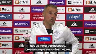 """Imagen de vista previa para Luis Enrique: """"Quizás haya traído a Gavi antes de tiempo"""""""