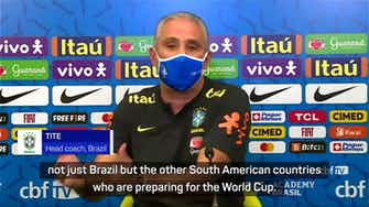 Preview image for Tite calls out 'European advantages' ahead of World Cup preparations