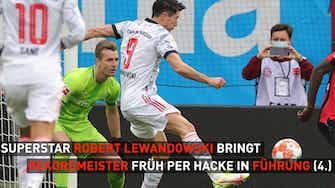 Vorschaubild für 5:1! Bayern schießt Leverkusen im Topspiel ab