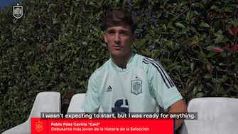 Preview image for Gavi on becoming Spain's youngest debutant